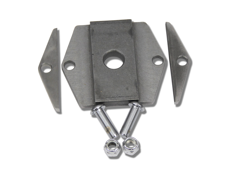 Part #1002 Custom U-bolt Plate