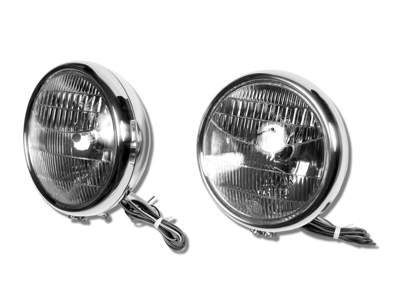1932 Ford Headlights : Original ford headlights with turn signals pete