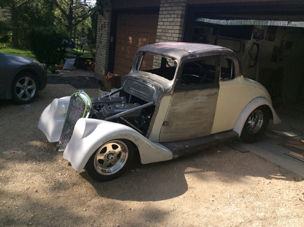 Duane Evans 33 Willys Coupe Pete Jakes Hot Rod Parts