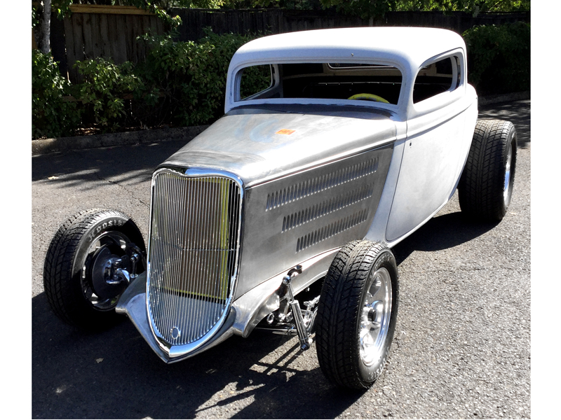 33 Three Window Coupe Project For Sale