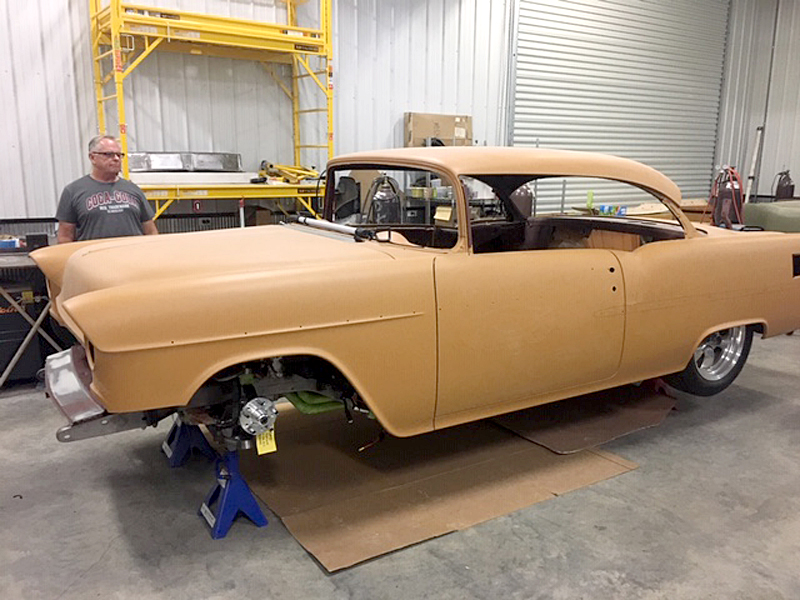 1955 Chevy Project Car For Sale Ready To Be Finished